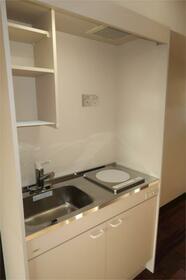クリンピア 201号室のキッチン
