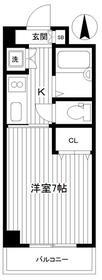 TANAKA HOUSE(タナカハウス) 1-C・1-C号室の間取り