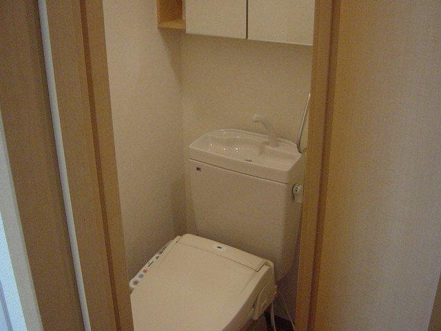 ロジュマン・K&K 101号室のトイレ