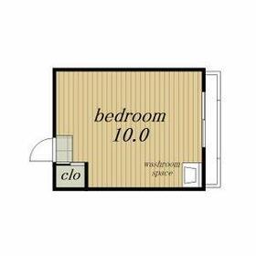 ステータスアパートメント長久手・2i号室の間取り