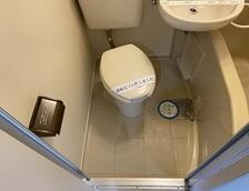 メゾン・ド・パンドール 0208号室のトイレ
