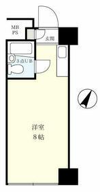 中銀日本橋マンシオン・803号室の間取り