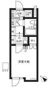 シティアビタ吉野町・208号室の間取り