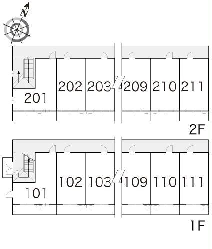 レオパレス藤 108号室のその他