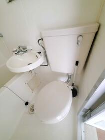サンユーハイツ石神井 103号室のトイレ