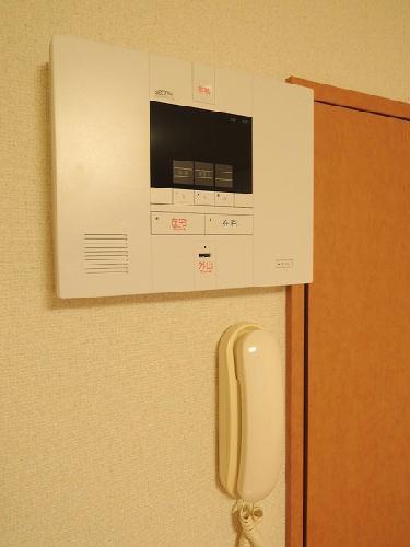 レオパレスマロンハイツ 203号室のセキュリティ