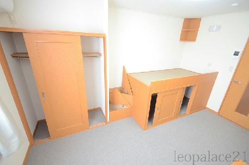 レオパレスマロンハイツ 203号室の収納