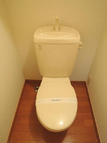 レオパレスマロンハイツ 203号室のトイレ