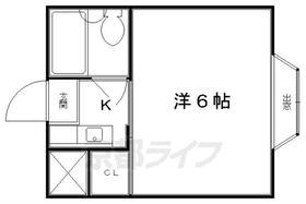 ハイム上賀茂・201号室の間取り
