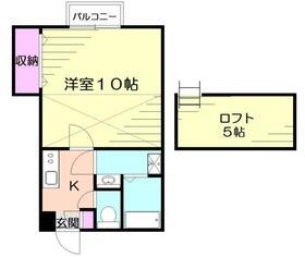 第2ネオMIコーポ・202号室の間取り