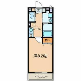 アートスペース横浜・B206号室の間取り