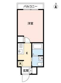 スカイコート神田第2・1102号室の間取り