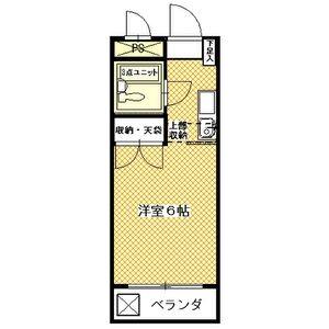 プチ☆セゾン弥生・105号室の間取り