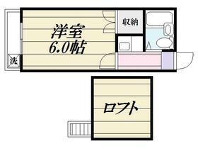 マックハイツ松戸第2・0203号室の間取り