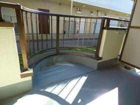 サカイハイツV 207号室のバルコニー