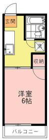 久野レピュート・202号室の間取り