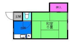 丸和荘・22号室の間取り