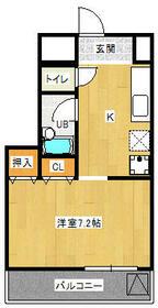 ハートフルマンション・305号室の間取り