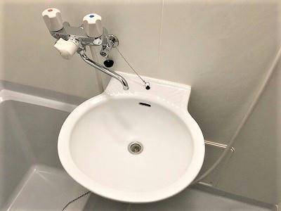 レオパレスあるかんしぇる 203号室の洗面所