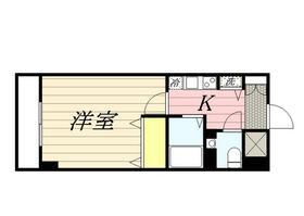 ロリエタワー川崎・0804号室の間取り