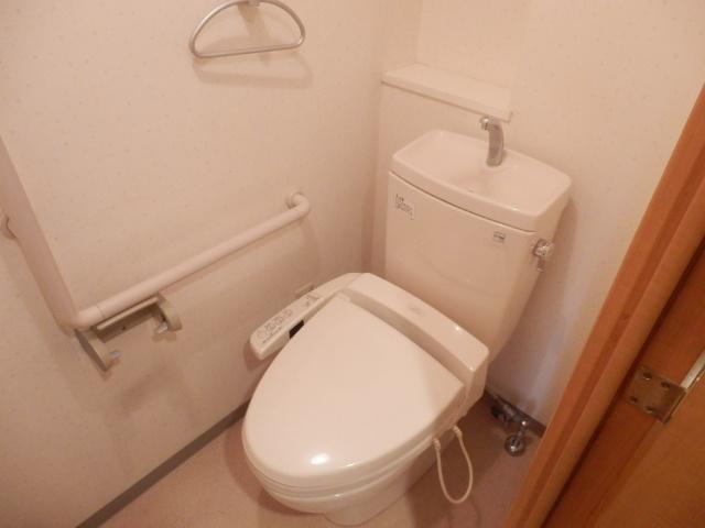 ベルシャイン厚木 102号室のトイレ