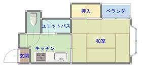 志津パーソナルアパートPart1・203号室の間取り