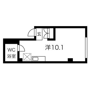 JPアパートメント吹田Ⅳ・103号室の間取り
