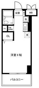 ワコー第3マンション・208号室の間取り