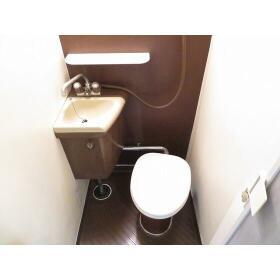 パーソネージュ中板橋 0401号室のトイレ