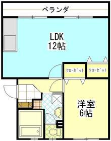 町田コープタウン8号棟・302号室の間取り