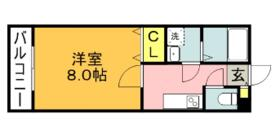ファインフォレスタ福津・201号室の間取り