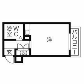 エクセランス新栄・407号室の間取り