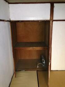 神泉苑荘 101号室の収納