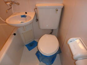 ウエストハイム国領 0101号室のトイレ