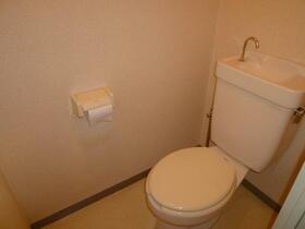 第1サンビレッジ泉水 505号室のトイレ