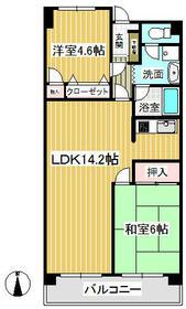 第1上井草パールマンション・0202号室の間取り
