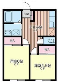 GMハイツ東戸塚第2・203号室の間取り