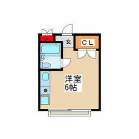 千草台マンション・303号室の間取り