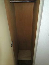 スカイコート橋本第1 208号室の収納