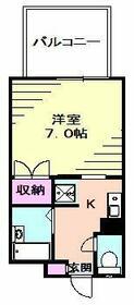 ツカヤマコート・102号室の間取り
