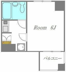 リゾーム中里Ⅲ・304号室の間取り