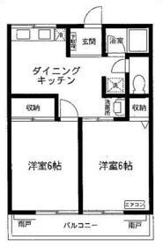 シティハイム SAKAE2・202号室の間取り
