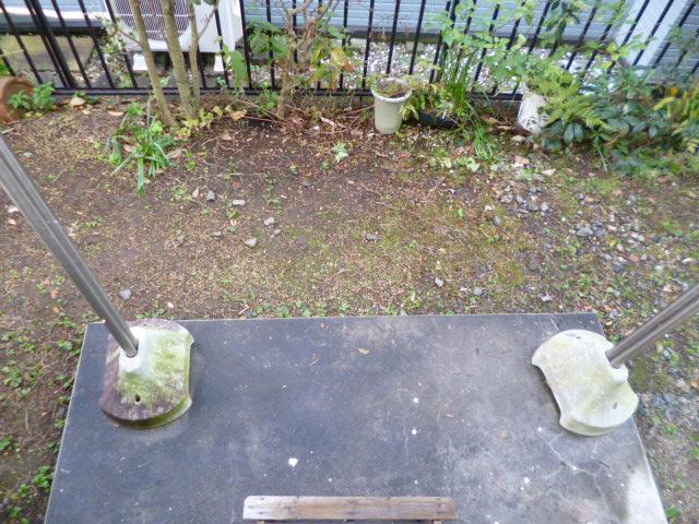 プリコート 102号室の庭