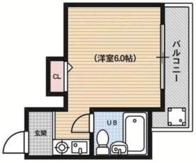 ファミリエ円町・203号室の間取り