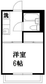 ハイツミヤモト・202号室の間取り