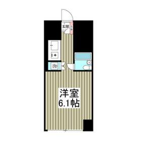 シーサイドコート金沢八景・101号室の間取り
