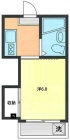 英桜コーポ・103号室の間取り