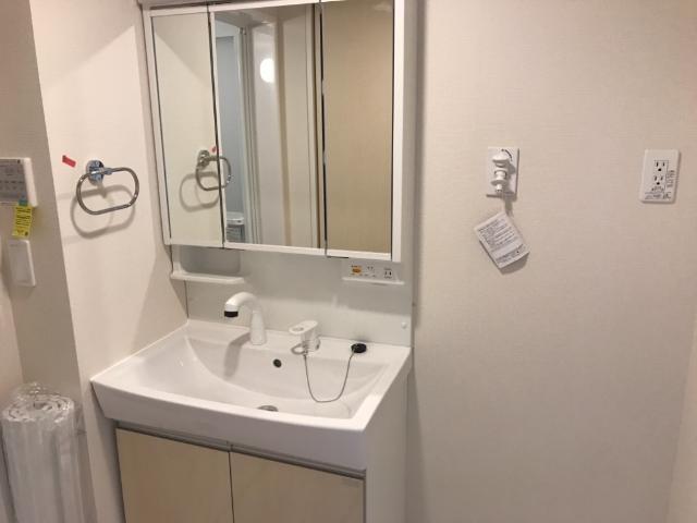 リヴィエール南別府 101号室の洗面所