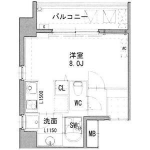 REGARO KANAYAMA Sta. 501号室の間取り