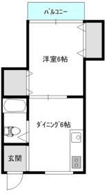 第2ひばりマンション・302号室の間取り